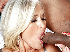 Its Thanksgiving! Katia Feasts On Dark Meat!